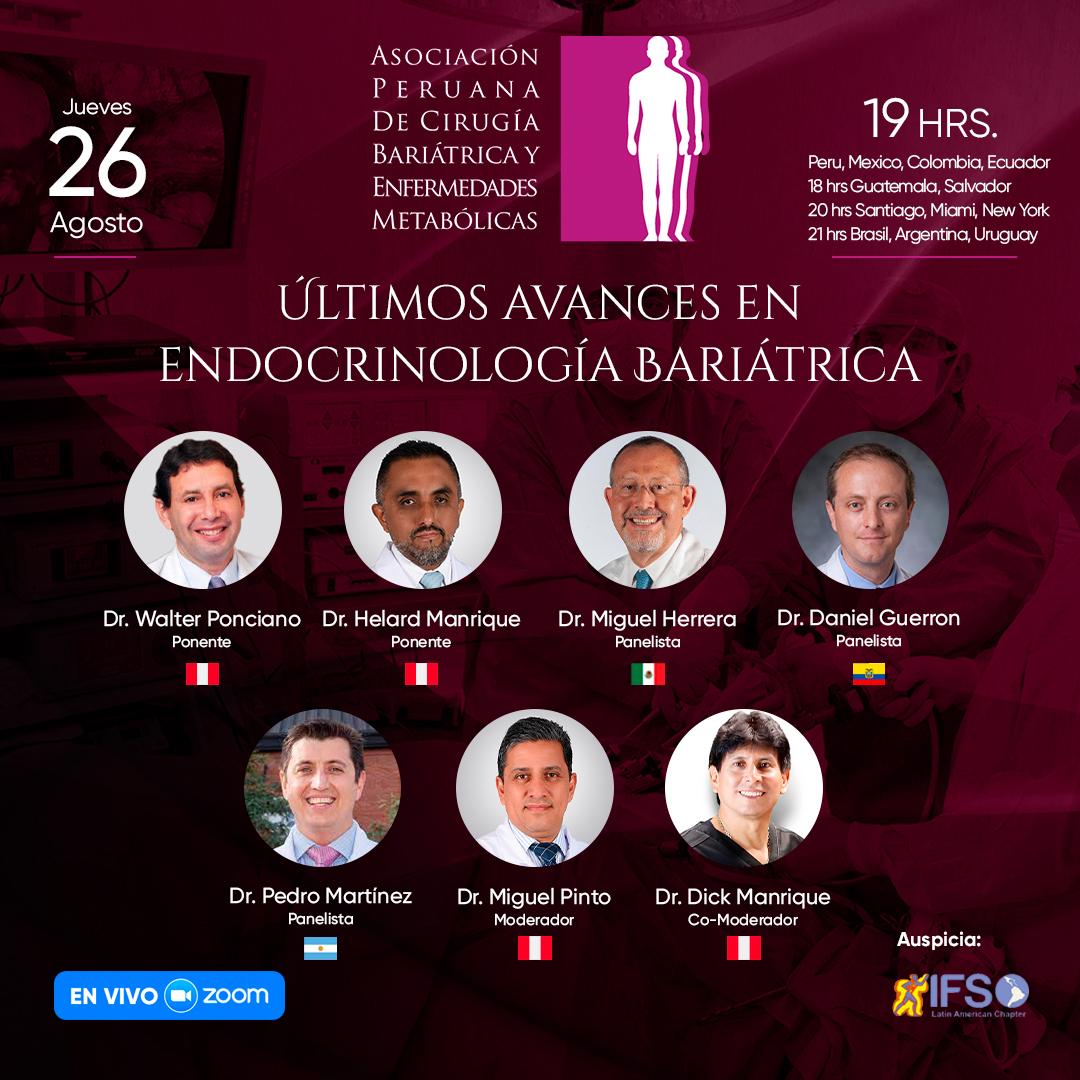 Últimos avances en Endocrinología Bariátrica